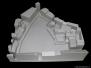 Līvu laukuma rekonstrukcijas priekšlikums Rīgā,  apkārtējās apbūves makets